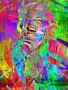 Royalty Digital Art Posters - Monroe 20130618ex Poster by Wingsdomain Art and Photography