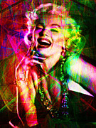 Royalty Digital Art Posters - Monroe 20130618so Poster by Wingsdomain Art and Photography