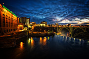 Spokane Framed Prints - Monroe Street Bridge Framed Print by James Richman