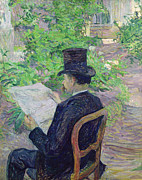 Desire Paintings - Monsieur Desire Dihau by Henri de Toulouse-Lautrec