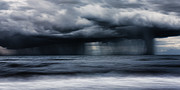 Storm Clouds; Sunset; Twilight; Water Metal Prints - Monsoon Metal Print by Matt Dobson