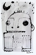 Monsters Mixed Media - Monstra No. 8 by Mark M  Mellon