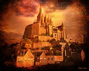 Mont Saint-michel Print by Kylie Sabra