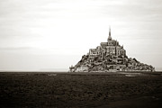 France Prints - Mont Saint Michel Print by Olivier Le Queinec