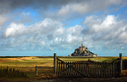 Fortification Posters - Mont Saint-Michel Poster by RicardMN Photography