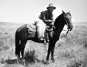 Montana Cowboy 1904 Print by Granger