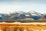Kitty Cat Prints - Montana Mountain View 2 Print by Paul Bartoszek