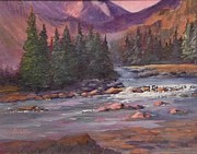 Judy Fisher Walton - Montana River