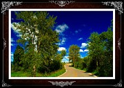 Fading Dream Photos - Montana Road - 3 by Larry Mulvehill