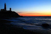 Hamptons Prints - Montauk at Dawn Print by James Kirkikis