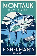 REPRODUCTION - Montauk - Fishermen