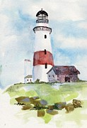 Sandi Stonebraker - Montauk lighthouse