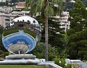 Allen Sheffield - Monte Carlo Casino in Reflection