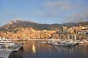 Monaco Art - Monte Carlo Sunset by James Smith