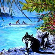 Anna Duyunova Art Prints - Montego Bay. Part One Print by Anna  Duyunova