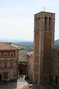 Hall Way Photos - Montepulciano  by Christiane Schulze