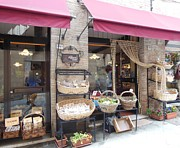 Shops Prints - Montepulciano Shop Print by Marilyn Dunlap