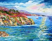 Monterey California Spring Print by Karen Tarlton