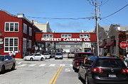 Fisheries Prints - Monterey Cannery Row California 5D25027 Print by Wingsdomain Art and Photography