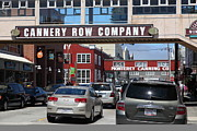 Fisheries Prints - Monterey Cannery Row California 5D25030 Print by Wingsdomain Art and Photography