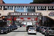 Fisheries Prints - Monterey Cannery Row California 5D25034 Print by Wingsdomain Art and Photography