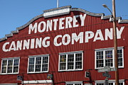 Fisheries Prints - Monterey Cannery Row California 5D25039 Print by Wingsdomain Art and Photography