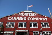Fisheries Prints - Monterey Cannery Row California 5D25040 Print by Wingsdomain Art and Photography