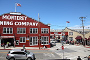 Fisheries Prints - Monterey Cannery Row California 5D25042 Print by Wingsdomain Art and Photography