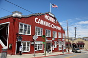 Fisheries Prints - Monterey Cannery Row California 5D25045 Print by Wingsdomain Art and Photography