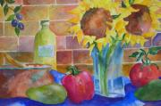 Olives Originals - Monterey Kitchen by Gloria Johnson