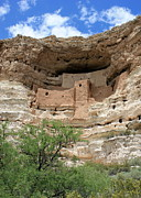 Native American Dwellings Prints - Montezuma Castle Print by Carol Groenen
