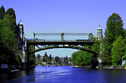 Union Bridge Prints - Montlake Bridge 2 Print by Cheryl Young