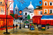 Mariana Stauffer - Montmartre evening