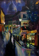 Montmartre Paintings - Montmartre by George Dadiani