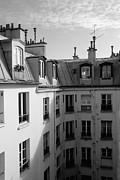 Harold E McCray - Montmartre Roof Tops II