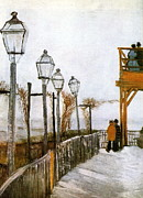 Montmartre Paintings - Montmartre by Vincent Van Gogh