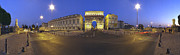 Montpellier Prints - Montpellier France Arc de Triomphe Print by David  Zanzinger