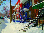 Carole Spandau - Montreal Art Streets Of...