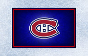 Hockey Art - Montreal Canadiens by Joe Hamilton