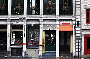 Old Montreal Photos - Montreal Shops by John Rizzuto