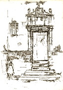 Montresor Chapel Doorway 1840 Print by Padre Art