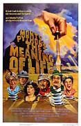 Vintage Posters Art - Monty Python The Meaning of Life Poster by Sanely Great