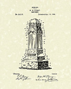 Perry Posters - Monument 1895 Patent Art Poster by Prior Art Design