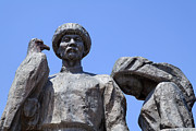 Kyrgyzstan Photos - Monument to the Martyrs of the Revolution in Bishkek in Kyrgyzstan  by Robert Preston