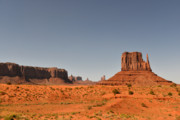 Butte Prints - Monument Valley - Beauty Created By Nature Print by Christine Till