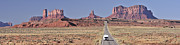 Canyonland Framed Prints - Monument Valley Highway II Framed Print by Christian Heeb