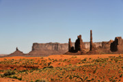 Butte Prints - Monument Valley - Icon of the West Print by Christine Till