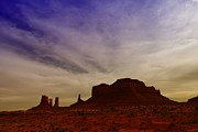 Cloud Formations. Cloud Photography Posters - Monument Valley Poster by Jeff  Swan