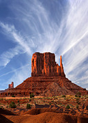 Monument Valley - Left Mitten 2 Print by Mike McGlothlen