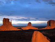 Jeff Brunton Metal Prints - Monument Valley Mittens Metal Print by Jeff Brunton